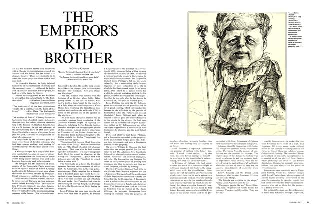 Article Preview: The Emperor's Kid Brother, JULY 1968 1968 | Esquire