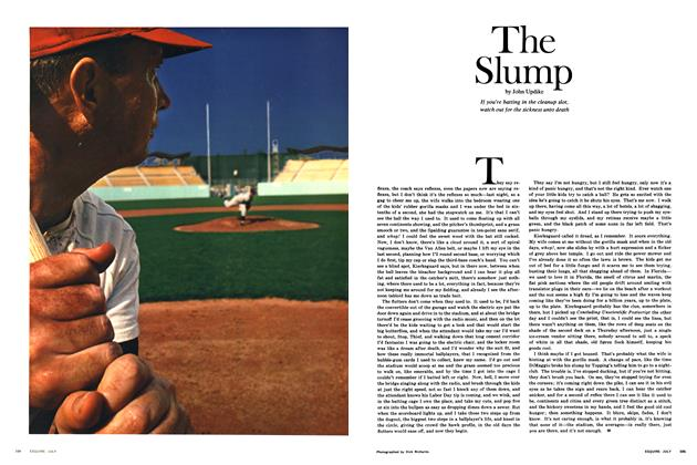 Article Preview: The Slump, July 1968 | Esquire