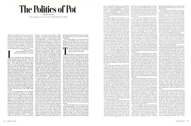 The Politics of Pot