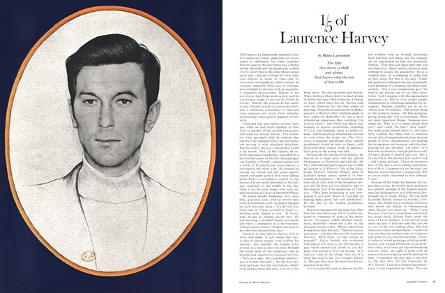 ⅕ of Laurence Harvey