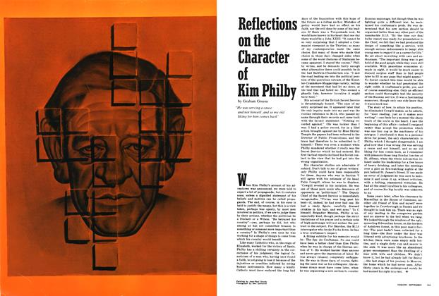 Article Preview: Reflections on the Character of Kim Philby, SEPTEMBER 1968 1968 | Esquire
