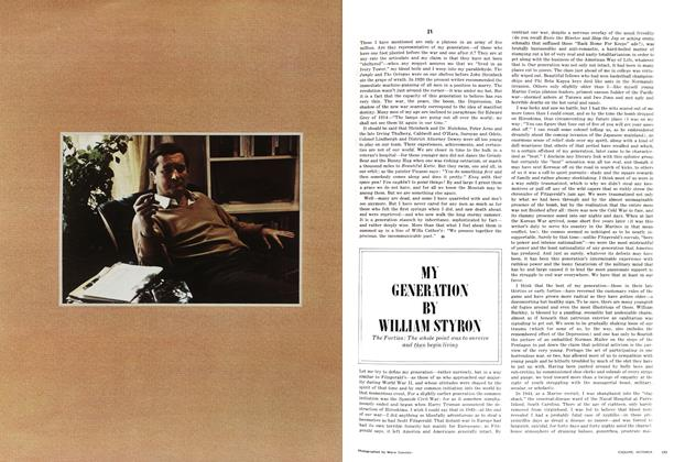 Article Preview: My Generation: The Forties, OCTOBER 1968 1968 | Esquire