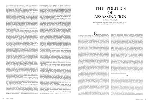 The Politics of Assassination