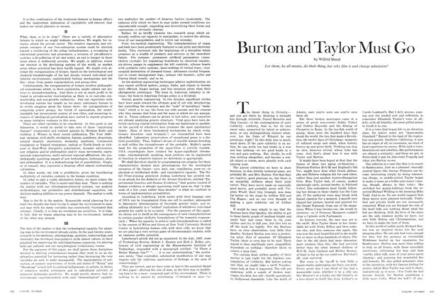Article Preview: Burton and Taylor Must Go, OCTOBER 1968 1968 | Esquire
