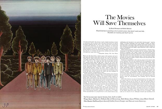 Article Preview: The Movies Will Save Themselves, October 1968 | Esquire