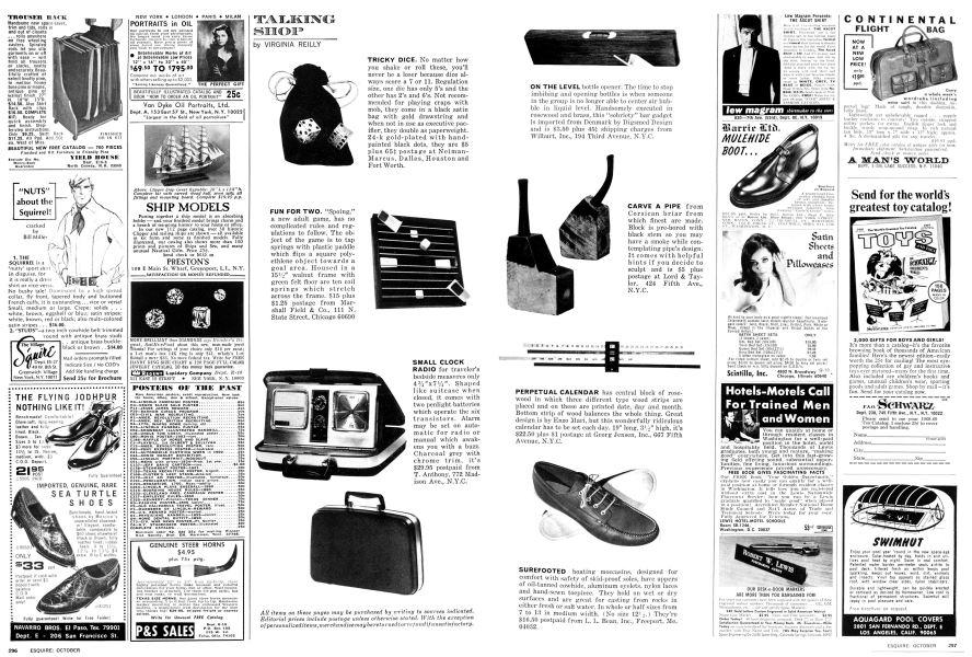 TALKING SHOP   Esquire   OCTOBER 1968