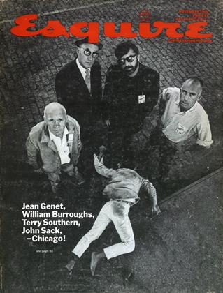Cover for the November 1968 issue