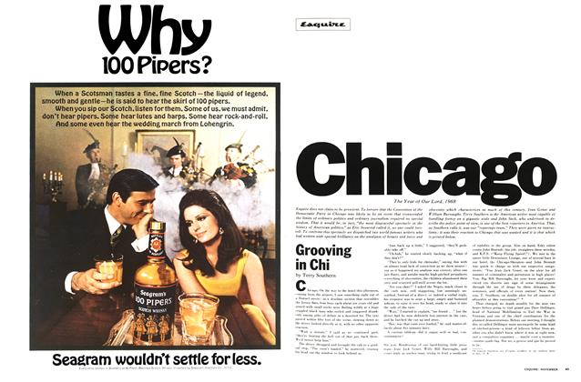 Article Preview: Grooving in Chi, November 1968 | Esquire