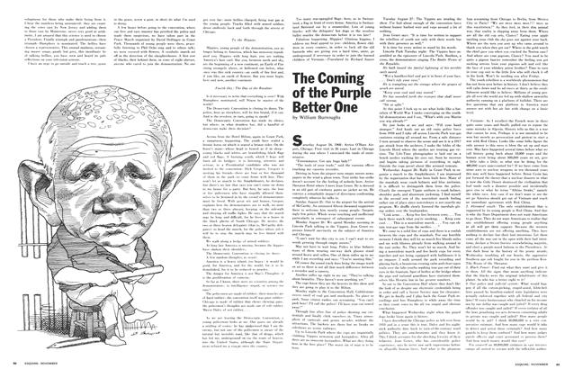 Article Preview: The Coming of the Purple Better One, NOVEMBER 1968 1968 | Esquire