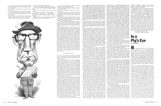 Article Preview: In a Pig's Eye, November 1968 | Esquire