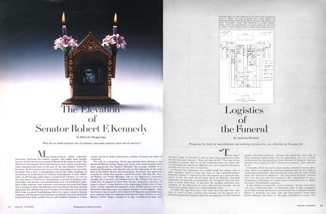 Article Preview: Logistics of the Funeral, November 1968 | Esquire