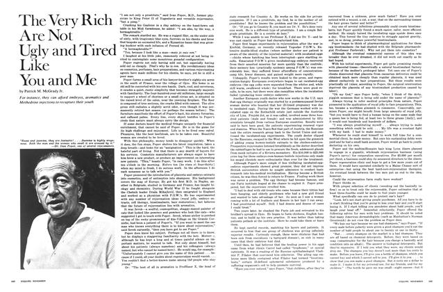 Article Preview: The Very Rich Are Not Ugly and Tired Like You and Me, NOVEMBER 1968 1968 | Esquire