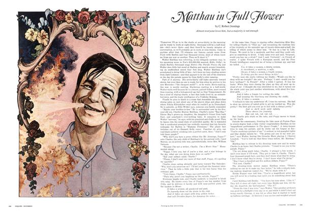 Article Preview: Matthau in Full Flower, December 1968 | Esquire
