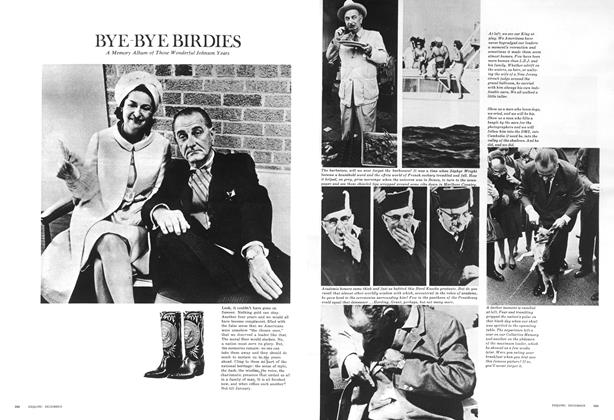 Article Preview: Bye - Bye Birdies, December 1968 | Esquire
