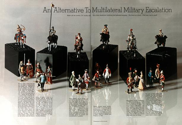 Article Preview: An Alternative to Multilateral Military Escalation, December 1968 | Esquire