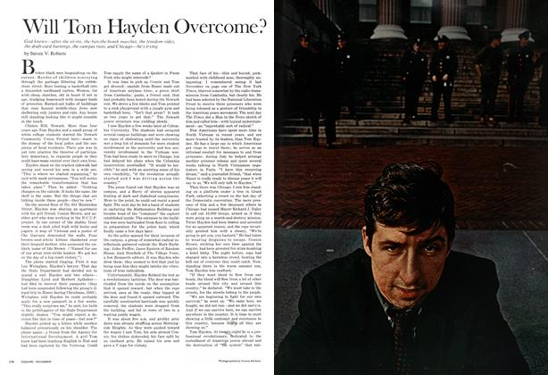 Article Preview: Will Tom Hayden Overcome?, DECEMBER 1968 1968 | Esquire
