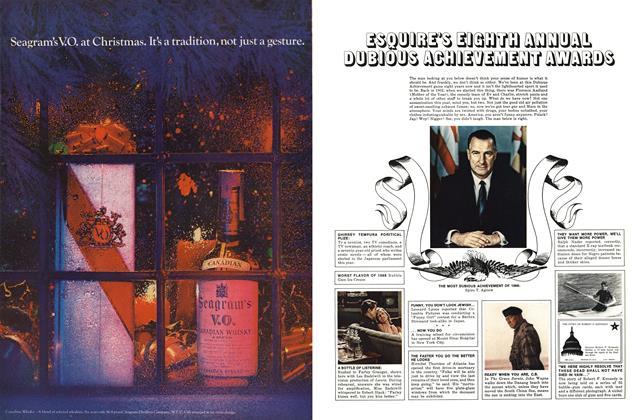 Esquire's Eighth Annual Dubious Achievement Awards