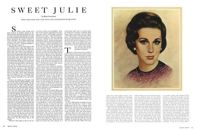 Article Preview: Sweet Julie, January 1969 | Esquire