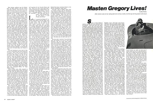 Article Preview: Masten Gregory Lives!, JANUARY 1969 1969 | Esquire