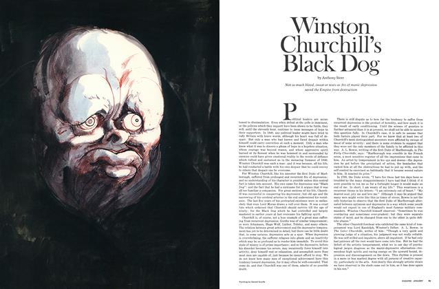 Winston Churchill's Black Dog