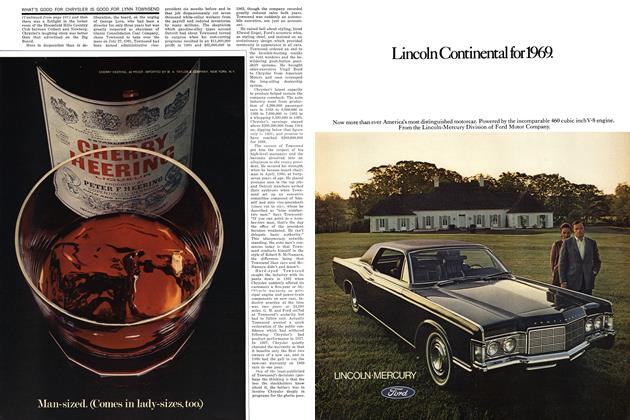 Article Preview: What's Good for Chrysler Is Good for Lynn Townsend, MARCH 1969 1969 | Esquire
