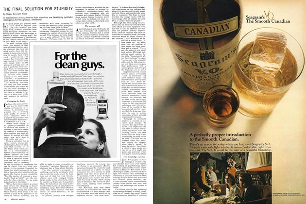 Article Preview: The Final Solution for Stupidity, MARCH 1969 1969 | Esquire