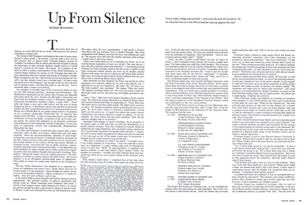 Article Preview: Up From Silence, MARCH 1969 1969 | Esquire