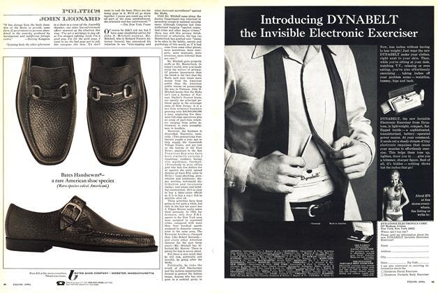 Article Preview: Politics, APRIL 1969 1969 | Esquire