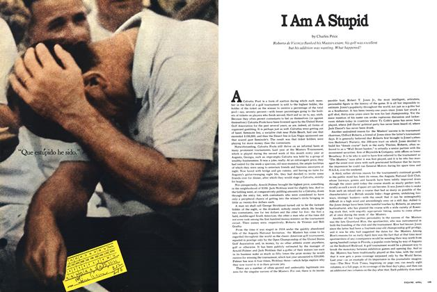 Article Preview: I Am a Stupid, April 1969 | Esquire