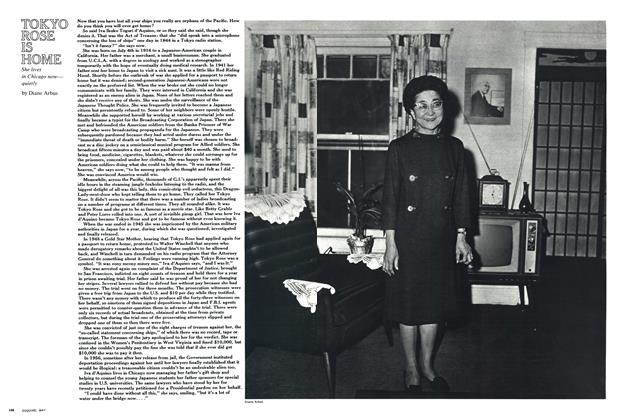 Article Preview: Tokyo Rose is Home, May 1969 | Esquire
