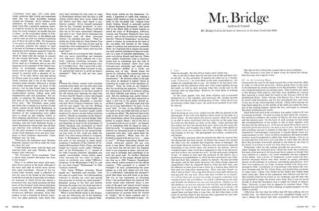 Article Preview: Mr. Bridge, May 1969 | Esquire