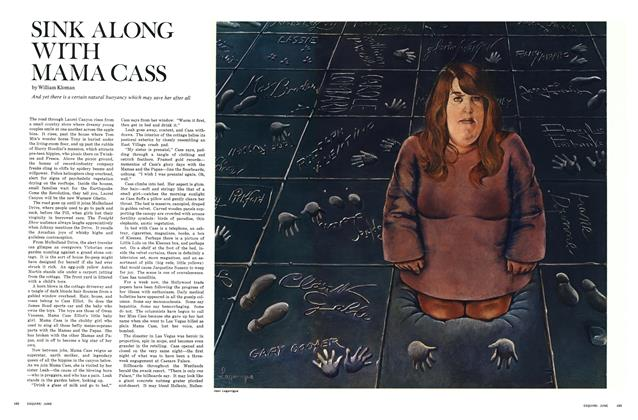Article Preview: Sink Along with Mama Cass, June 1969 | Esquire