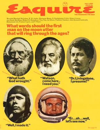 Cover for the July 1969 issue