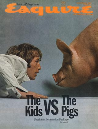 Cover for the September 1969 issue