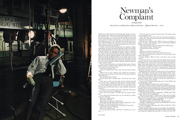 Article Preview: Newman's Complaint, SEPTEMBER 1969 1969 | Esquire