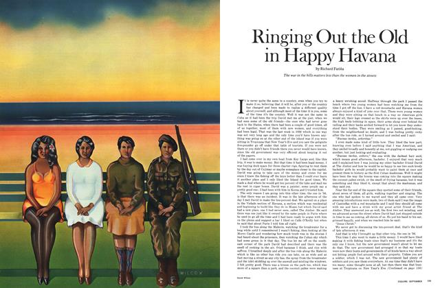 Article Preview: Ringing Out the Old in Happy Havana, SEPTEMBER 1969 1969 | Esquire
