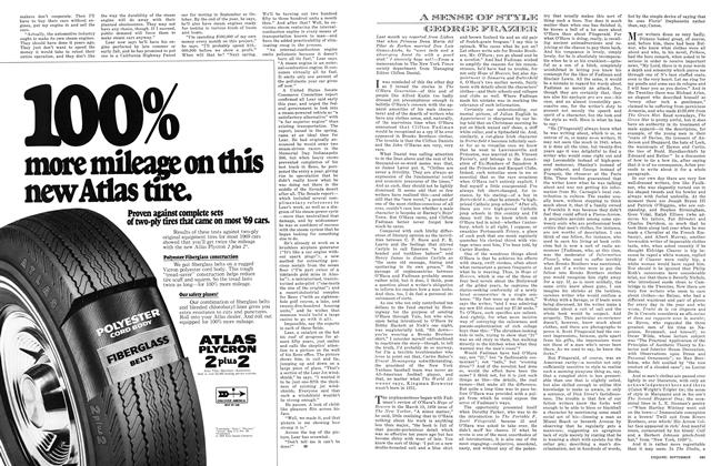Article Preview: A SENSE OF STYLE, September 1969 | Esquire