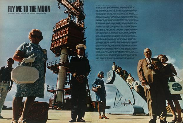 Article Preview: Fly Me To the Moon, OCTOBER 1969 1969 | Esquire