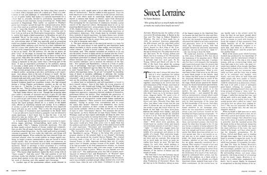 Sweet Lorraine - November   Esquire