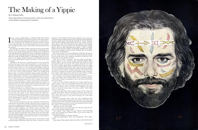 Article Preview: The Making of a Yippie, November 1969 | Esquire
