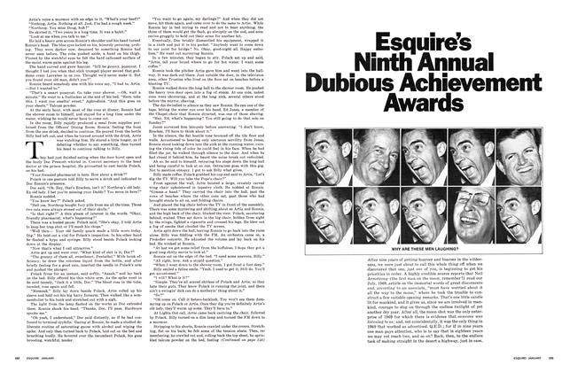 Esquire's Ninth Annual Dubious Achievement Awards