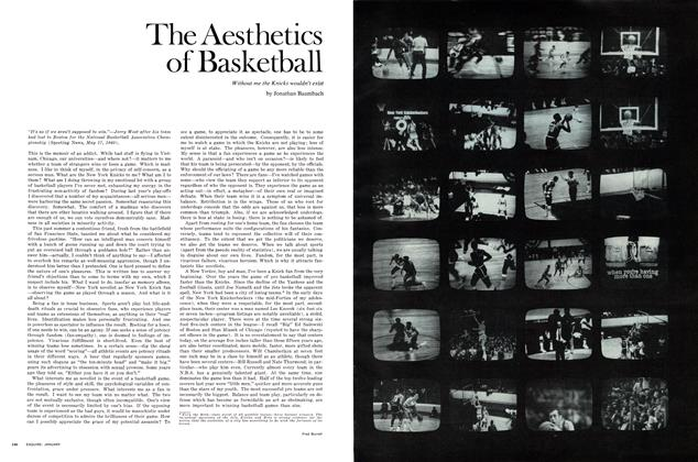 The Aesthetics of Basketball