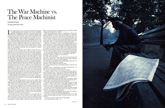 The War Machine vs. The Peace Machinist