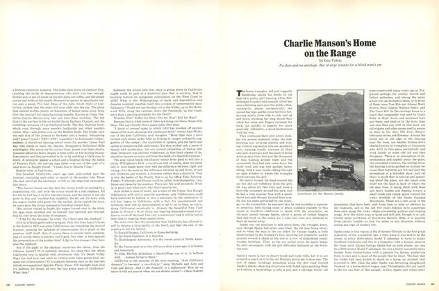 Article Preview: Charlie Manson's Home on the Range, March 1970 | Esquire