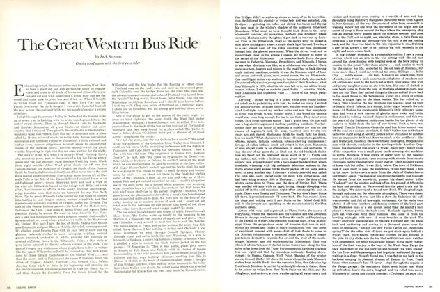 Article Preview: The Great Western Bus Ride, March 1970   Esquire