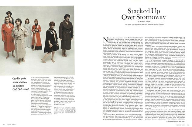 Article Preview: Cardin Puts Some Clothes on Unclad Oh! Calcutta!, MARCH 1970 1970 | Esquire