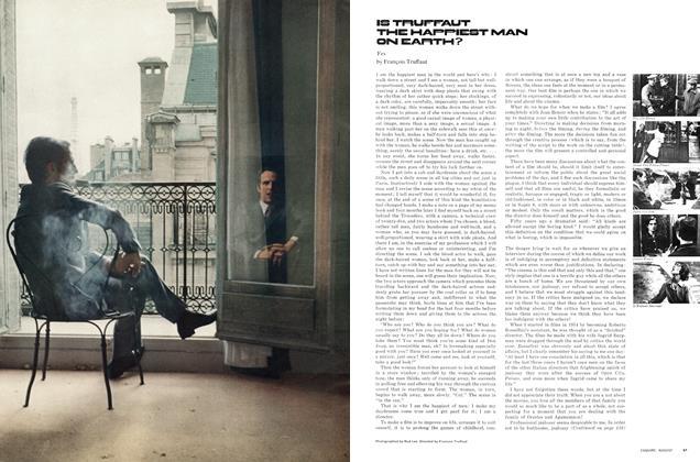 Is Truffaut the Happiest Man on Earth?