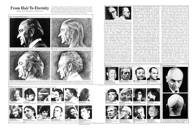 Article Preview: From Hair to Eternity, AUGUST 1970 1970 | Esquire