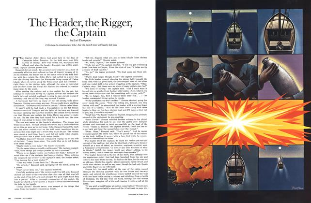 Article Preview: The Header, the Rigger, the Captain, SEPTEMBER 1970 1970 | Esquire
