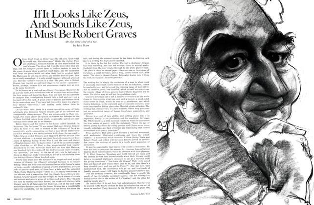 If It Looks Like Zeus, and Sounds Like Zeus, It Must Be Robert Graves